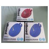 1 LOT W/WATERPROOF BILLBOARD WIRELESS SPEAKERS: