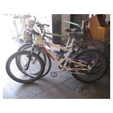 LOT OF 3 BICYCLES: