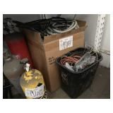 LOT WITH ASSORTED HOSES & WIRING
