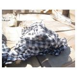 2 PALLETS OF CHECKERED NECK SCARFS
