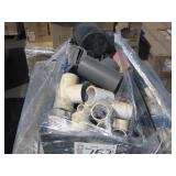 PALLET OF ASSORTED PVC PIPE FITTINGS