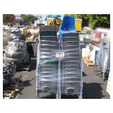 LOT OF PLASTIC SCHOOL CHAIRS