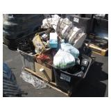 PALLET OF MISCELLANEOUS SHOP TOOLS