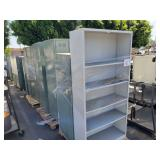 LOT OF STEEL STORAGE CABINETS AND LOCKERS