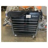 SNAP-ON TOOL BOX & TIRE ALIGNMENT MACHINE