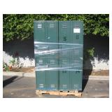 PALLET OF STEEL STORAGE LOCKERS