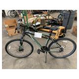 1 BLACK/GREEN SCHWINN APPROACHAL BIKE