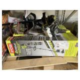 "LOT WITH RYOBI 2 CYCLE 18"" GAS STRAIGHT SHAFT"