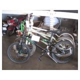 3 BMX BICYCLES