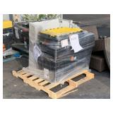 PALLET WITH STORAGE TOTES