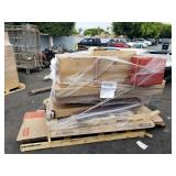 1 PALLET OF OFFICE FURNITURE