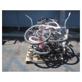 PALLET OF BICYCLES
