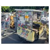 EZ-GO ELECTRIC UTILITY CART