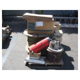 PALLET OF ASSORTED BUILDING SUPPLIES