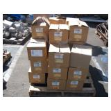 PALLET OF LED RECESS LIGHT FIXTURES