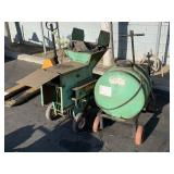 LINDIG SOIL SHREDDER M10 F & W.W. GRINDER SPRAYER
