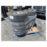 PALLET WITH 8 TIRES