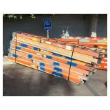 LOT WITH FIBER GLASS LADDERS