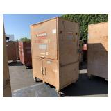 KNAACK JOB SITE 3 DOORS STORAGE CABINET