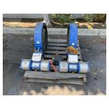 PALLET WITH 2 ROTARY ACTUATOR