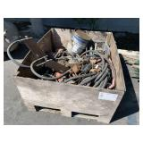 BOX WITH GAS PUMP EQUIPMENT & HOSES