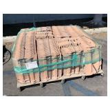 PALLET WITH CLAY ROOFING TILES