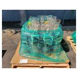 PALLET OF JOB SITE LIGHT FIXTURES