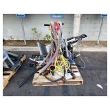 PALLET OF INDUSTRIAL FLOOR SCRUBBERS