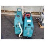 LOT OF 4 INDUSTRIAL FLOOR SCRUBBERS