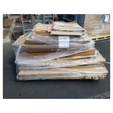 PALLET OF EASELS AND TABLE TOPS