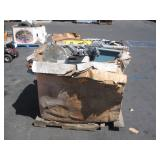 1 PALLET OF SCRAP METAL COPPER, ALUMINUM,