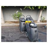 LOT OF 3 INDUSTRIAL FLOOR SCRUBBERS