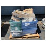 PALLET WITH AUTOMOTIVE PARTS
