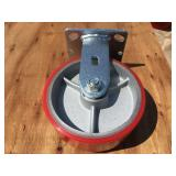 "CRATE OF 6"" SWIVEL MAINTENCE CASTERS"