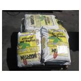 PALLET OF WATER DEGRADABLE SULFUR BAGS