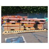 PALLET OF FIBER GLASS 12