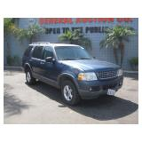 (DEALER ONLY) (DMV FEES) 2003 FORD EXPLORER