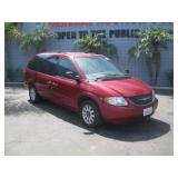 (DMV FEES) 2003 CHRYSLER  TOWN & COUNTRY