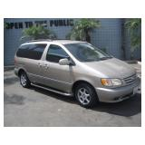 (DEALER ONLY) (DMV FEES) 2003 TOYOTA SIENNA
