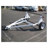 SPOOL TRAILER     SINGLE AXLE SPRING SUSPENSION,