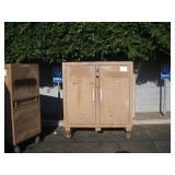 KNAACK JOB SITE STORAGE CABINET/TOOL BOX
