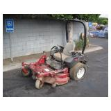 COMMERCIAL TORO Z MASTER RIDING LAWNMOWER
