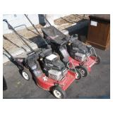 2 EXMARK RED LAWNMOWERS