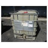 1000 LITER TOTE FULL OF GREASE