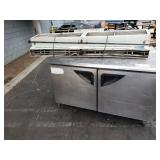 LOT OF COMMERCIAL STAINLESS STEEL FOOD PREP