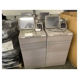 LOT WITH 4 CARE FUSION PYXIS MED STATION