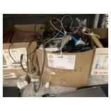 BOX WITH ELECTRONICS