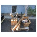 PALLET OF MISCELLANEOUS SUPPLIES