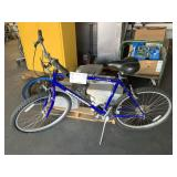 BLUE SCHWINN FRONTIER BICYCLE