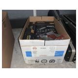 BOX WITH MINI ELECTRIC INFLATORS